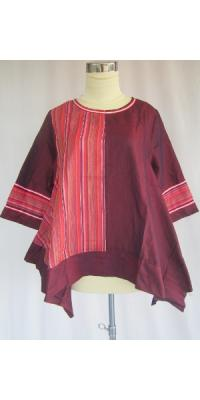 Blus Nudee Asimetris Songket [AS65336]