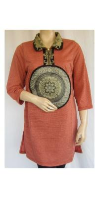 Tunik Nudee Kaos Strimin [AS65292]