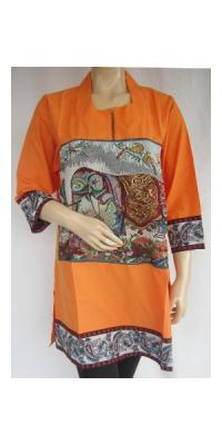 Blus Gajah Bangkok Resliting [AS65351]