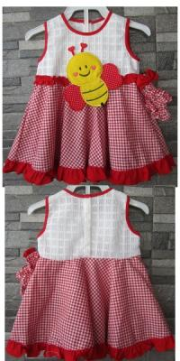Dress payung Bee [DAD86]