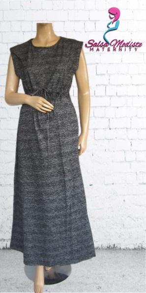 Long Dress Kutung Hamil dan Menyusui [GHS202]