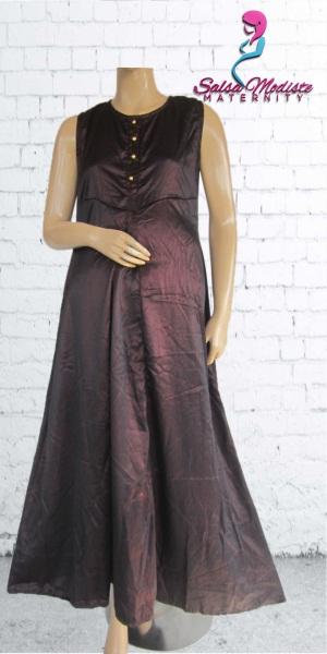 Long Dress Hamil dan Menyusui Payung [GHS203]