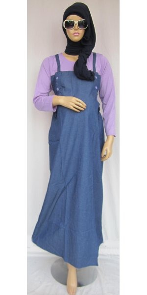 Gamis Hamil Denim Overall Gps211