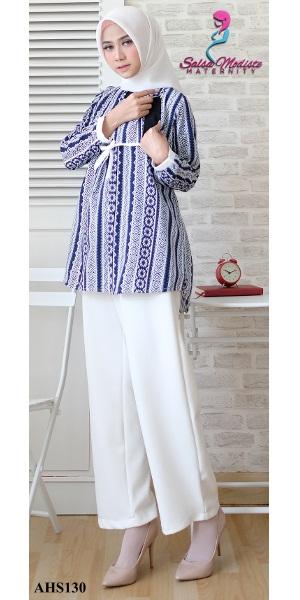 Luna Batik baju hamil dan menyusui [AHS130]