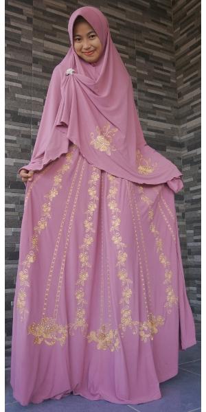 Baju Gamis Arab Payung