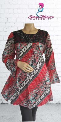 Baju Hamil dan Menyusui Batik Broklat [AHS518]