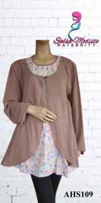 Baju hamil dan menyusui bolero jumbo [AHS109]