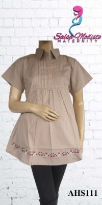Baju Hamil dan Menyusui Pendek [AHS111]