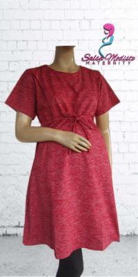 Dress Hamil dan Menyusui Kaos [DHS401]