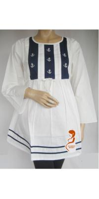 Baju Hamil dan menyusui AL Putih [AP742]