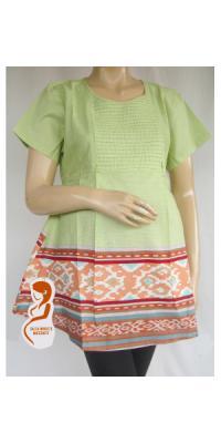 Baju Hamil Batik Shela [AP995]