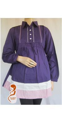 Baju Hamil dan Menyusui Kerja Rainbow [AP812]