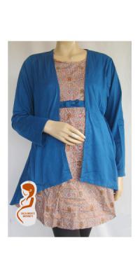 Baju Hamil Batik Jumbo Bolero [APS724]