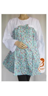 Baju Hamil dan Menyusui Jumbo Bunga [APS291]