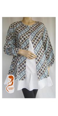 Baju Hamil Menyusui Batik Parang [APS071]