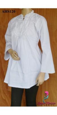 Baju Hamil dan Menyusui Putih [AHS122]