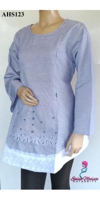 Baju Hamil dan Menyusui bordir brokat [AHS123]