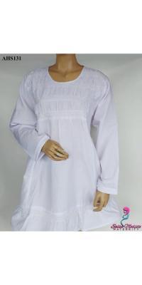 Baju hamil menyusui kerja kantor putih jumbo [AHS131]