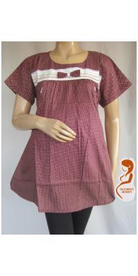 Baju Hamil dan Menyusui Polkadot Pita [AP227]