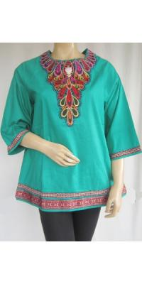 Blus Nudee Bordir [AS65374]