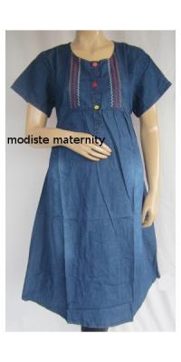 Dress Hamil Jins Wash [DHJ991]