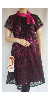 Dress Hamil Brokat [DH888]