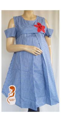 Dress Hamil Lolita Kotak [DH396]