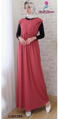 Dress hamil menyusui&hamil kutungan [GHS207]